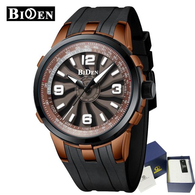 b9c1ed9617ac 2019 nuevo BIDEN relojes para hombre hombres superior de la marca de lujo  de deporte reloj