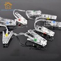 Transparent Clip 2.2m  20 LED 3 AA Battery Card Photo Clip String Lights Christmas Lights Party Wedding Home Decor Fairy Lights