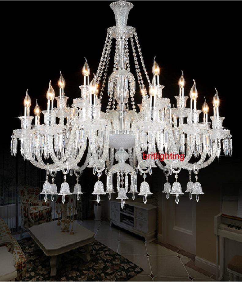 Crystal Chandeliers For A Luxury Hotel In Italy: ᐂLuxury Modern Crystal Lighting Chandelier ⑦ Glass Glass