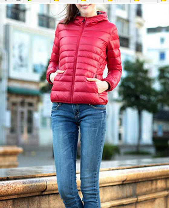 Padded jacket The new fall and winter clothes female models in Europe and America long-sleeved short coat thin section 92848 edition in the fall of new women s wear long sleeved sweater knit render unlined upper garment female hedge brief paragraph