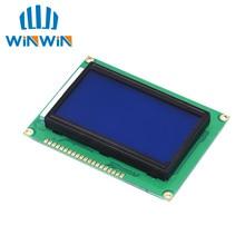 10 stücke LCD 12864 128x64 Dots Grafik Blaue Farbe Hintergrundbeleuchtung LCD Display Schild 5,0 V