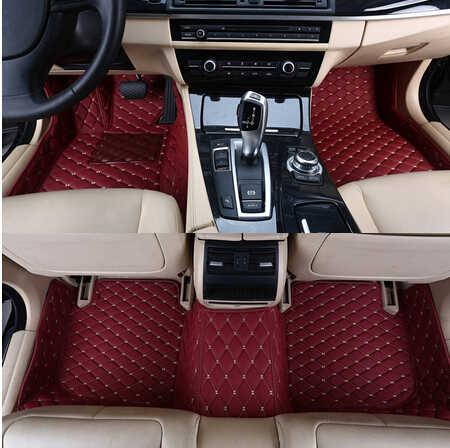 最高品質! カスタム特別な車のフロアマット BMW 2 シリーズクーペ 218i 220i 225i 228i F22 2019-2014 防水敷物カーペット