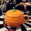 Beautiful Halloween Pumpkin Cup and Cover 250ml 2