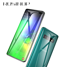 ROSINOP Scratch Proof Film Ultrathin Hydrogel For samsung s10 plus Phone Screen Protector Glass galaxy s9