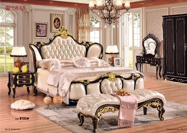 2018 Direct Ing Muebles De Dormitorio Furniture Bedroom Set Free Shipping To Apapa Beds Bed End Stool Dresser