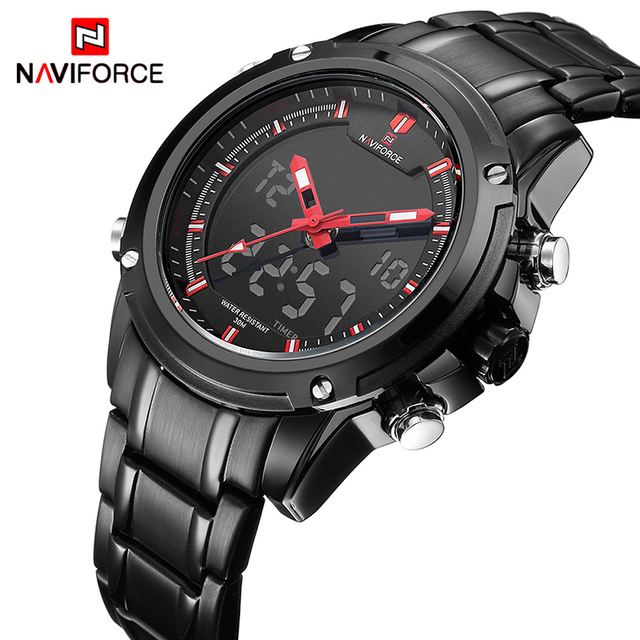 NAVIFORCE Luxury Brand Quartz Men Watch Military Sports Waterproof Men's  Watches With Box Set For Sale Relogio Masculino