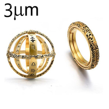 Jewelry Ring Astronomical Sphere Ball Ring Rotating Clamshell Astronomical Ring Universe Cosmic Finger Ring Couple Lover Trendy universe exploring the astronomical world