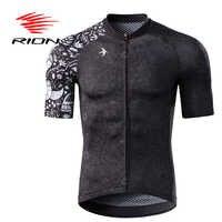 Rion men camisa de ciclismo motocross mangas curtas topos bicicleta retro mtb downhill camisa da equipe da bicicleta estrada outono roupas esportivas