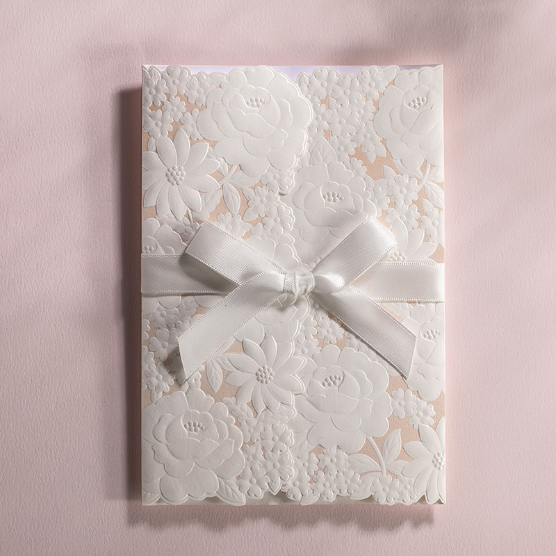 New Personality Butterfly Wedding Invitation Cards Elegant Paper ...