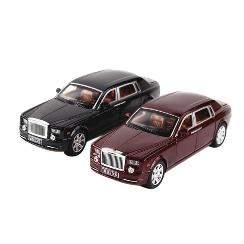 Toys For Children Cars 1:24 for Bentley Simulation Miniature Car Door Openable Model Kid Boys Gift