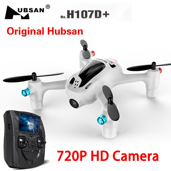 New Original Hubsan X4 H107D+ 2.4GHz 4CH 6 axis Gyro 5.8G RTF RC FPV Quadcopter Professional Drone With 720P HD Camera