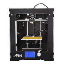 Анет A3 Полный Собранный Desktop 3D принтер алюминия экструдер широкоформатной печати Размеры UPGRADED плата + 1 кг нитей 16 ГБ sd карты