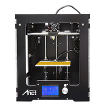 Anet A3 Full Assembled Desktop 3D Printer Aluminum Extruder Large Printing Size upgraded Mainboard+1KG Filaments 16GB SD Card