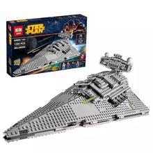 LEPIN 05062 1359Pcs STAR WARS space Series Imperial interstellar destroyer Model Building Blocks For Children font