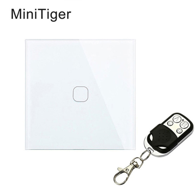 Minitiger Touch Switch 1 Gang 1 Way Wireless Remote