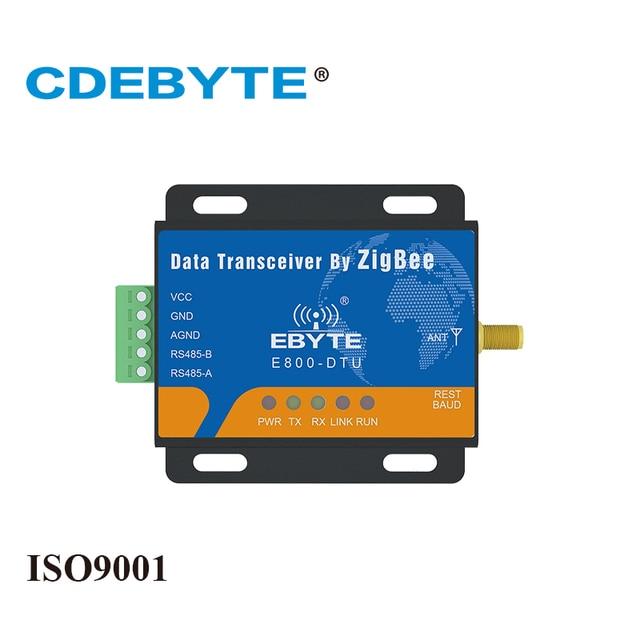 Zigbee cc2530 módulo E800 DTU (Z2530 485 20) rs485 240 mhz rede de malha 20dbm ad hoc rede 2.4 ghz zigbee rf transceptor