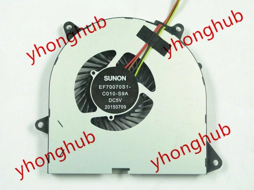 SUNON EF70070S1-C010-S9A DC 5V    Bare Fan free shipping for sunon eg50040v1 c06c s9a dc 5v 2 00w 8 wire 8 pin server laptop fan