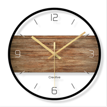 Wall clock Minimalist quartz watch simple Clocks Home Decoration Living Room Silent 12 inch W45