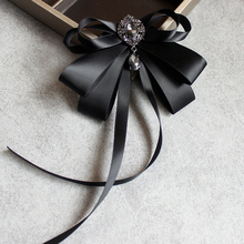 Korean style Women Bow Tie fashion BowTies for Female College Student Bank Hotel Staff multi-use girls bowtie women accessories