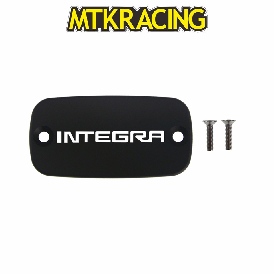MTKRACING CNC Aluminum Motorcycle Brake Fluid Fuel Reservoir Tank Cover Cap FOR <font><b>HONDA</b></font> <font><b>Integra</b></font> <font><b>700</b></font> 12-13 <font><b>Integra</b></font> 750/S/D 13-17 image