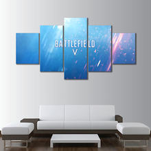 Battlefield Game Logo Decor Painting HD Printed Picture Paintings Canvas Wall Art Home