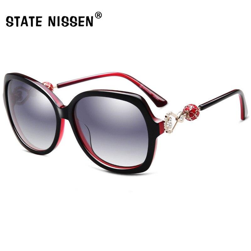 3ec3141e3a STATE NISSEN New Arrival Luxury Brand Design Sunglasses Oversized Women  Polarized Sun Glasses High Quality Female Eyewear