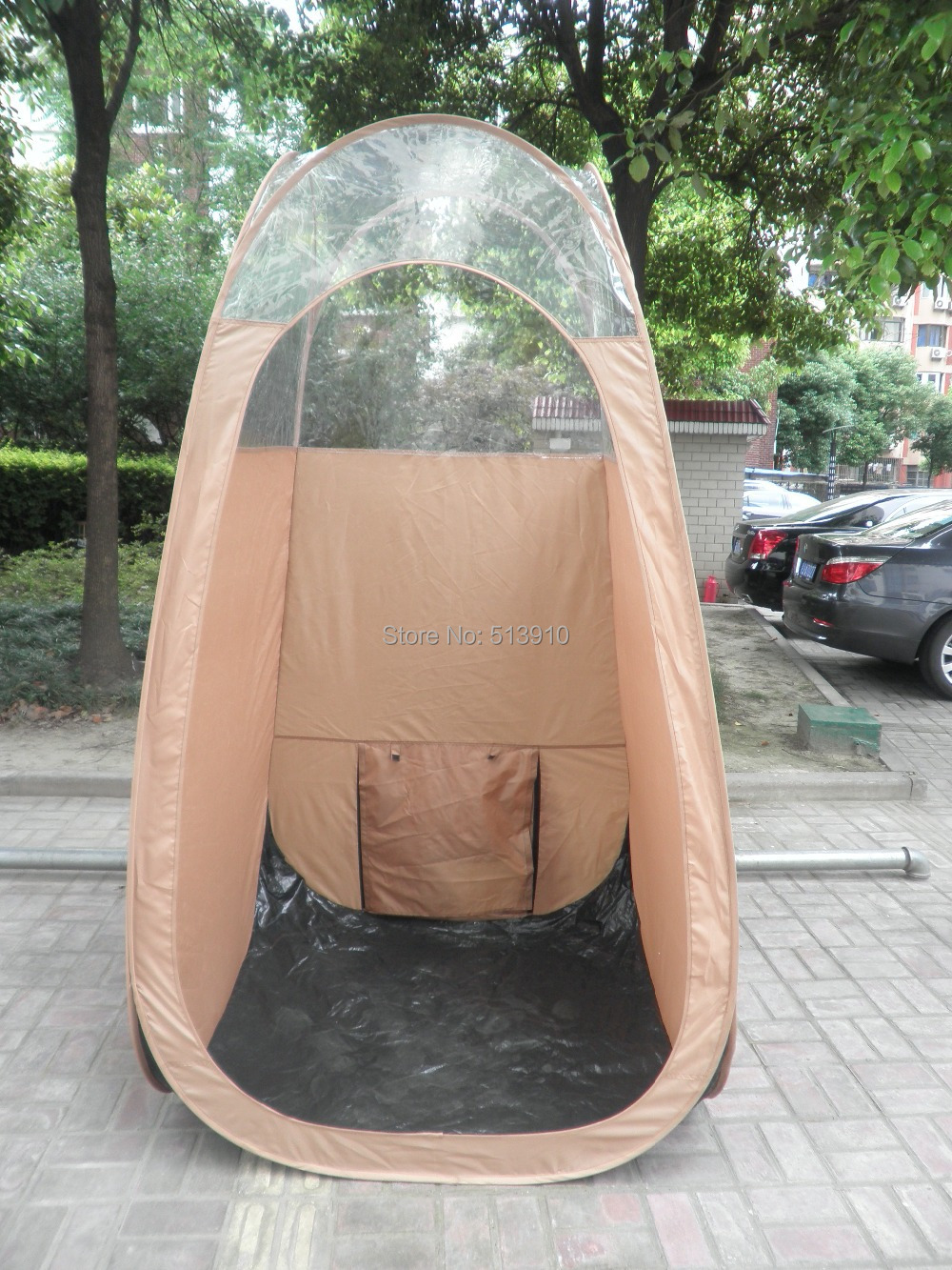 Spray Tanning tent in top quality oxford with large back vent popular in European & American marketSpray Tanning tent in top quality oxford with large back vent popular in European & American market