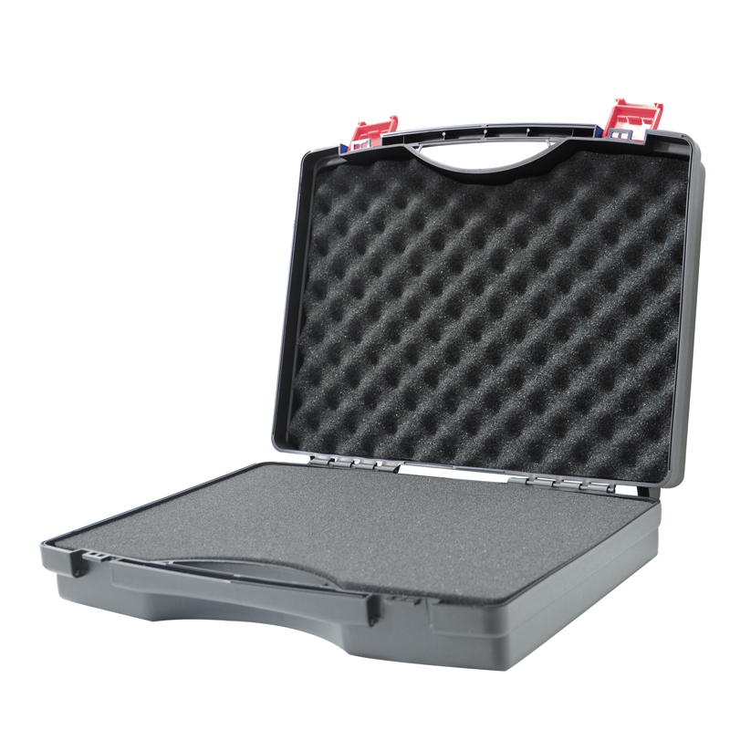 340x273x83mm Plastic Tool Box Instrument Box Impact Resistant Safety Case Suitcase Toolbox With Pre-cut Foam