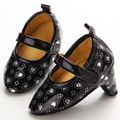 Детская Обувь Высокие Каблуки 0-1-Летняя Женщина Детская Обувь Любовь Моды Важно YMC016