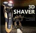 Homens Recarregável Lavável 3D À Prova D' Água Cabeça Flutuante Rotativo Barbeador Elétrico Frete Grátis & Drop Transporte