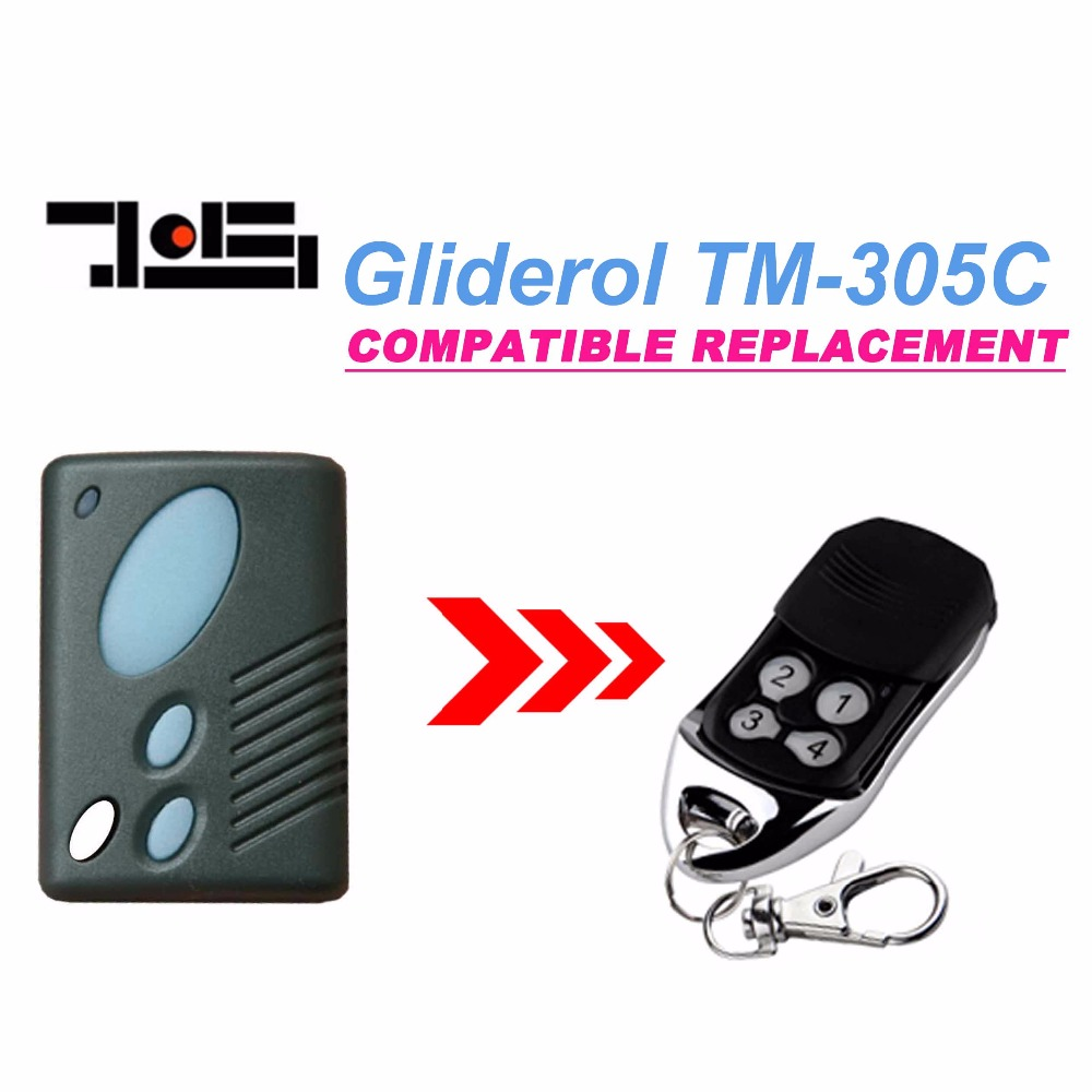 Gliderol TM-305C garage door replacement remote control top quality free shipping купить дешево онлайн