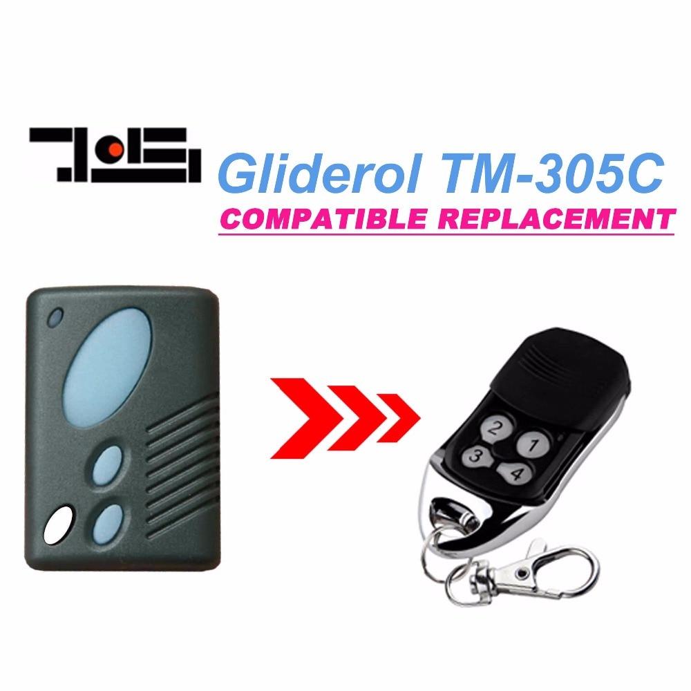 Gliderol Tm 305c Garage Door Replacement Remote Control Top