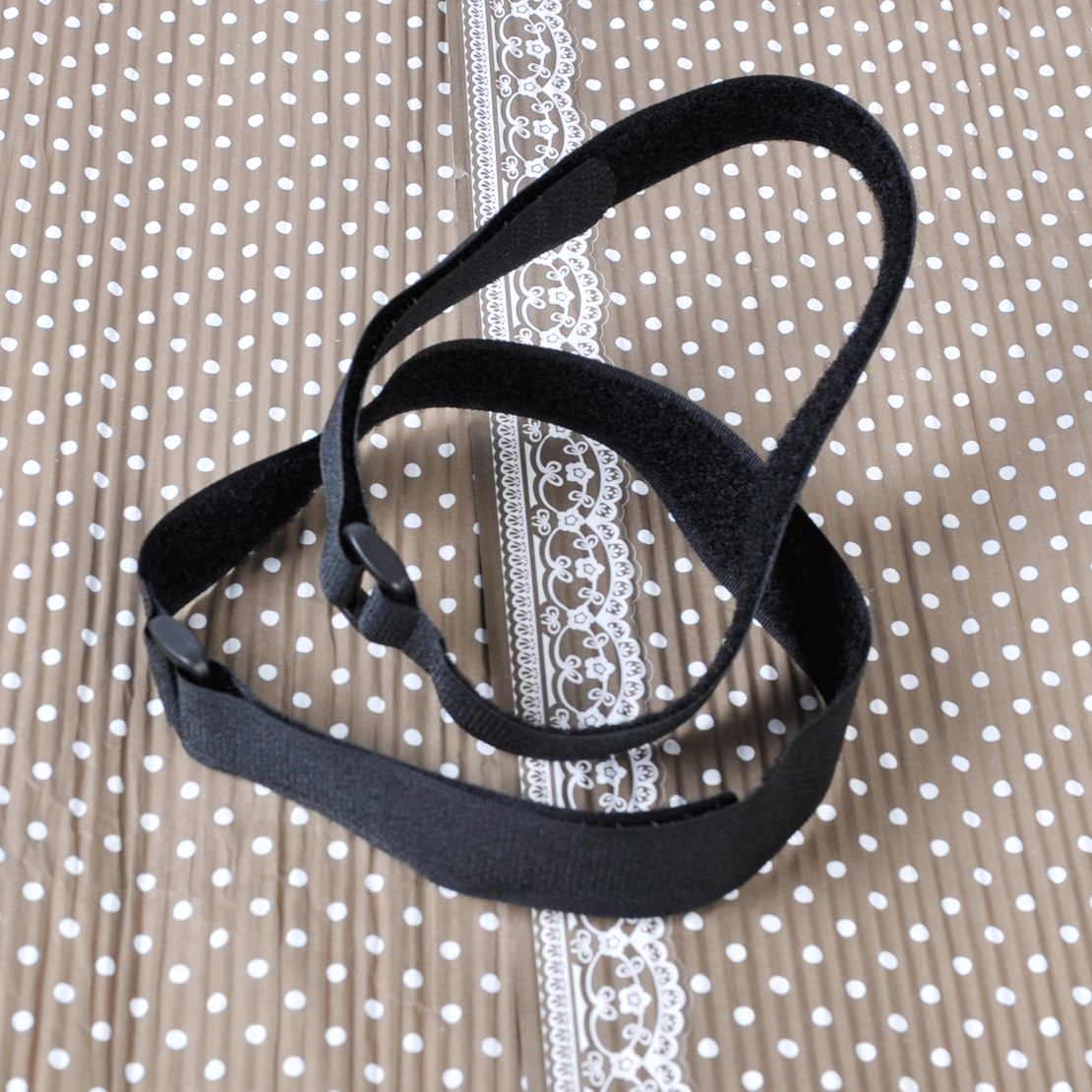High Quality 10Pcs Black Reusable Fastener Cable Holder Tie Rope Down Straps Cord Nylon 43cm x 2cm