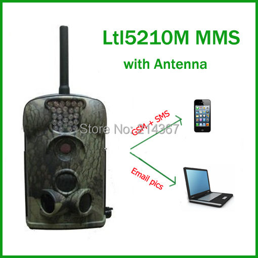 все цены на Ltl Acorn Ltl5210M 940nm Black IR Sightless GSM MMS Hunting Game Cameras for Hunter  Free ship