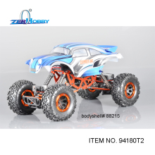 HSP RACING CAR REMOTE CONTROL ROCK CRAWLER 1/10 ELECTRICK OFF ROAD 4X4 CLIMBER HAMMER RC CAR TOYS 94180 T2 FOUR WHEELS STEERING