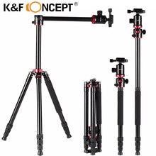 K & F концепцией профессиональный Портативный штатив из алюминиевого сплава путешествия штатив монопод для цифрового видео для Canon для Nikon для камеры