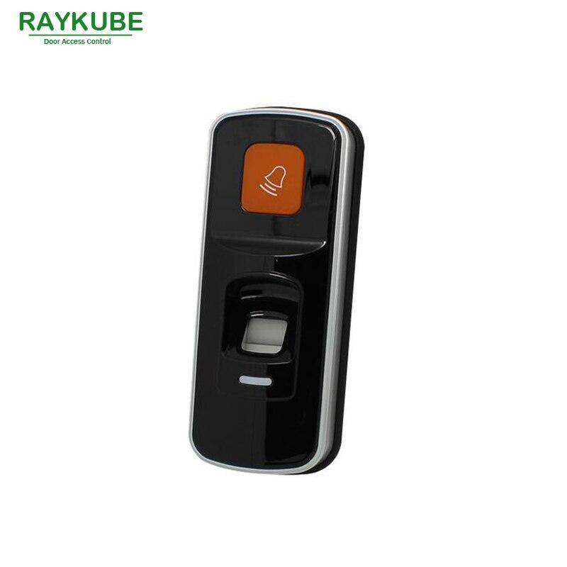 Lecteur biométrique d'empreintes digitales et RFID RAYKUBE 2 en 1 pour le système de contrôle d'accès R-FX8
