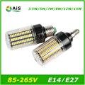 Новый E27 СВЕТОДИОДНЫЕ Лампы AC110V 220 В SMD 5736 СВЕТОДИОДНАЯ Лампа 3.5 Вт 5 Вт 7 Вт 9 Вт 12 Вт 15 Вт Кукурузы Свет Без Мерцания Свет Канделябра