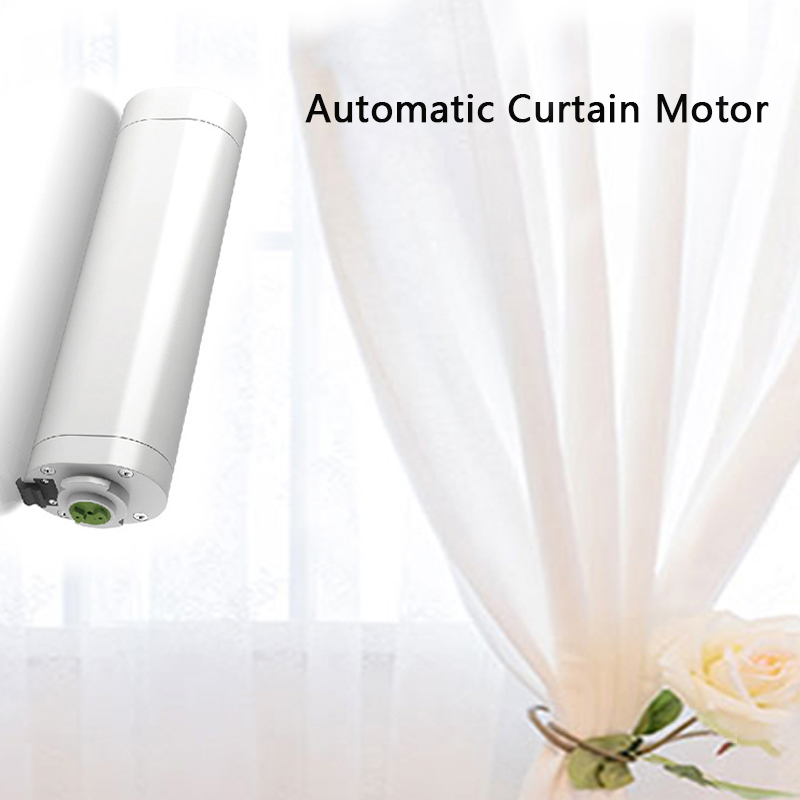 Dooya DT52S Electric Curtain Motor 220V Open Closing Window Curtain Track Motor Smart Home Motorized 45W Curtain Motor dooya dt52e electric curtain motor 220v 45w open closing window curtain track motor home automatic curtain motor for project