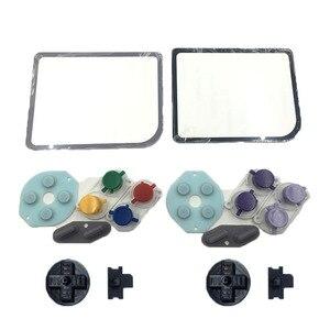 Image 1 - Cho Nintendo Game Boy Zero DMG 01 Nút Nhựa Cao Su Dẫn Điện Mod Kit Kính Lens Protector Cho Raspberry Pi