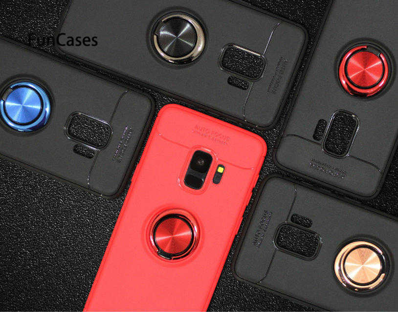 Coque de téléphone magnétique de voiture pour Samsung S7 Edge S8 S9 Plus Note 9 8 J3 J5 J7 2017 J5 J7 Prime J4 J6 J8 A6 A8 A9 A72018 A750 Fundas