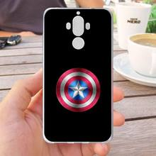 Mutouniao Avengers Design-10 Silicon Soft Case Cover For Huawei Honor 6X 8 Pro V9 4C 5C 7X 7C V10 Mate 7 8 9 10 P20 Pro Lite(China)
