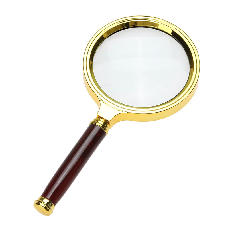 10X Magnifying Glass 60mm Portable Handheld Magnifier for Jewelry Newspaper Book Reading High Definition Eye Loupe Glass hot