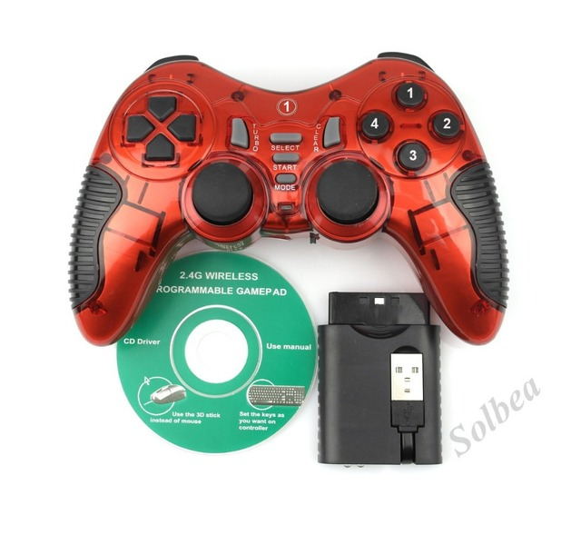 1pc new wireless 3 in 1 24ghz double shock gaming controller 1pc new wireless 3 in 1 24ghz double shock gaming controller gamepad joystick publicscrutiny Image collections