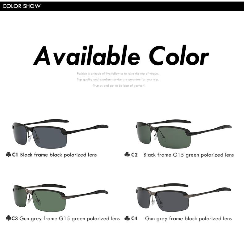 a6edac0e41 XIU Sunglasses Men Polarized Driving Sun Glasses Mens Sunglasses ...