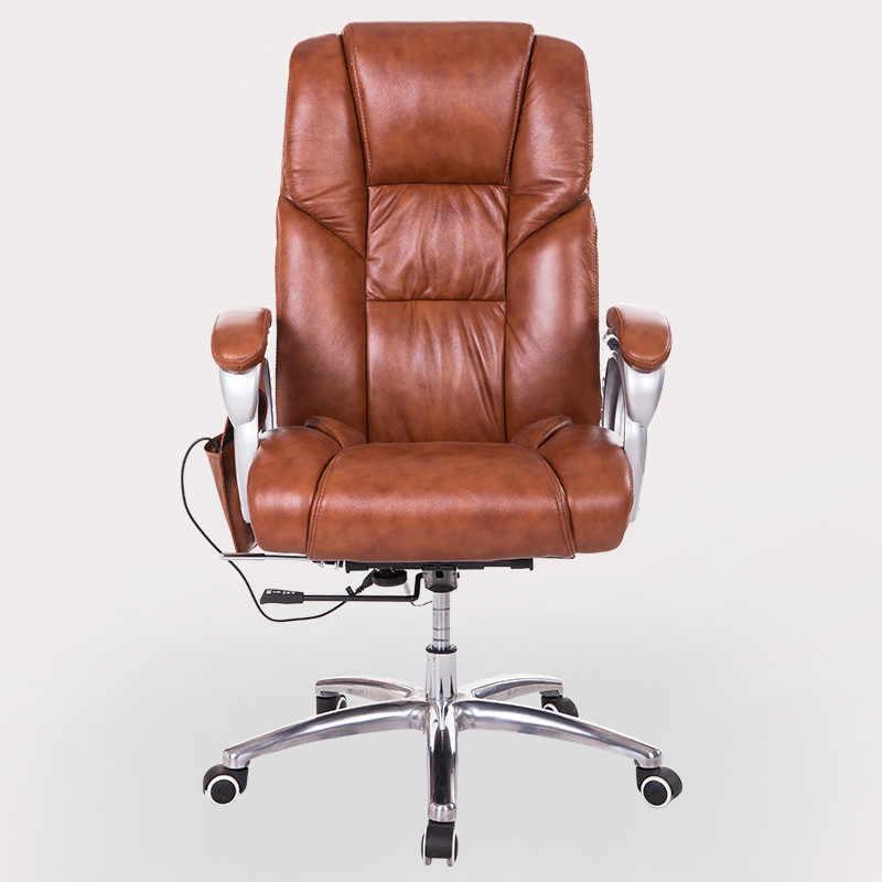Boss Executive Office Massage Chair Vibrating Ergonomic Computer Desk Chair Home Office Furniture Leather Gamer Chair Armchair Aliexpress