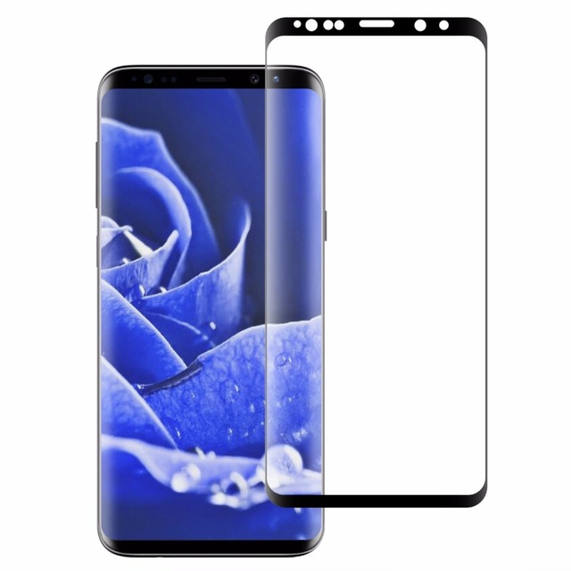brand new 5e294 ca802 US $1.92 8% OFF|For Samsung S9 S8 Plus S7 edge Tempered Glass Galaxy S9  Plus Screen Protector 3D Full Curved For Samsung Note8 9 S8 S9 plus Case-in  ...