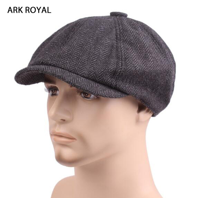 2c970c50a3ce6 David Beckham Fashion Gentleman Octagonal Newsboy Caps Beret Hat Autumn And  Winter For Men s Male Models Flat Caps Driving