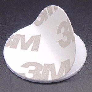 Image 5 - (10 pcs) rfid 125 khz 25mm t5577 스티커 재기록 가능한 접착 성 동전 카드 사본을위한 꼬리표 둥근 모양 pvc 물자