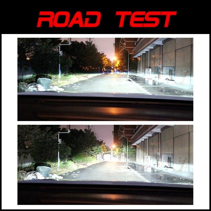 Bi-xenon phares lentilles HID projecteur mise à niveau 3.0 ''pour Hella 3R G5 5 bleu Film lentille Auto voiture accessoires modification D1S D2S D3S - 6